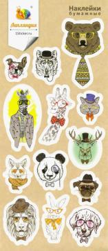 "Набор бумажных наклеек ""Животные 2"""