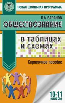 Обществознание в таблицах и схемах. 10-11 классы - Петр Баранов