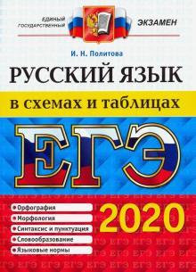 Ирина Политова: ЕГЭ 2020. Русский язык в схемах и таблицах