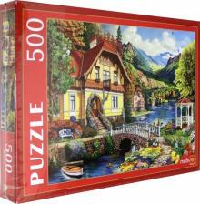 """Puzzle-500 """"Уютный дом у озера"""" (Ф500-4825)"""