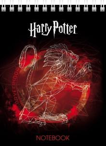 "Блокнот ""Гарри Поттер"", А6, клетка, 40 листов, в ассортименте (40Б6В1гр)"